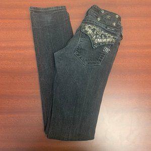 Miss Me Black Straight Leg Jean